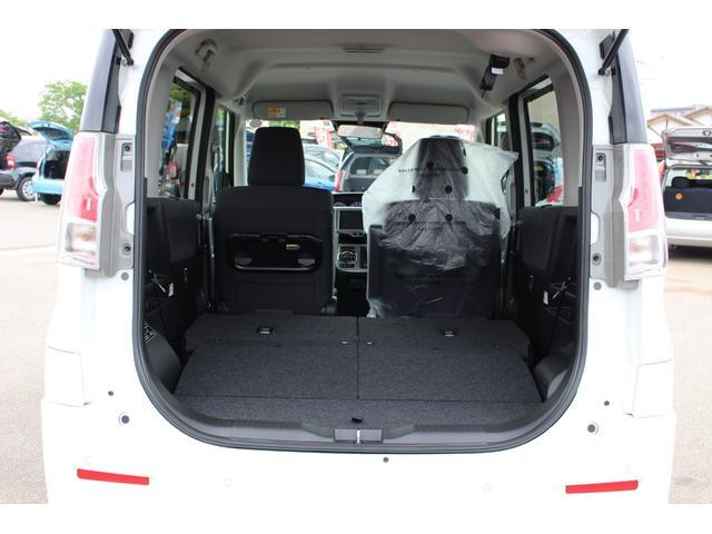ハイブリッドMZ 登録済未使用車 4WD ブレーキサポートレーンアシスト 盗難防止システム 両側電動スライドドア キーフリーシステム アイドリングSTOP クリアランスソナー オートライト パドルシフト シートヒーター(52枚目)