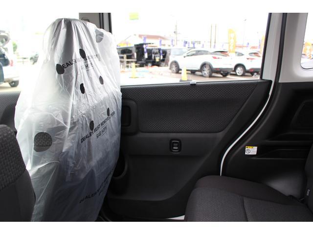ハイブリッドMZ 登録済未使用車 4WD ブレーキサポートレーンアシスト 盗難防止システム 両側電動スライドドア キーフリーシステム アイドリングSTOP クリアランスソナー オートライト パドルシフト シートヒーター(53枚目)