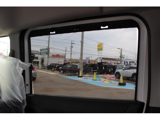ハイブリッドMZ 登録済未使用車 4WD ブレーキサポートレーンアシスト 盗難防止システム 両側電動スライドドア キーフリーシステム アイドリングSTOP クリアランスソナー オートライト パドルシフト シートヒーター(54枚目)