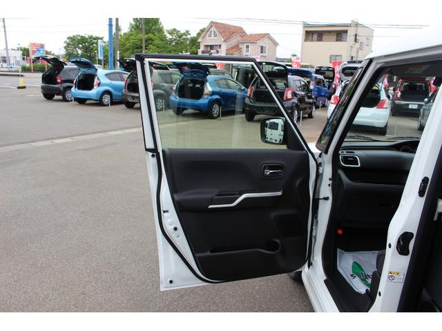ハイブリッドMZ 登録済未使用車 4WD ブレーキサポートレーンアシスト 盗難防止システム 両側電動スライドドア キーフリーシステム アイドリングSTOP クリアランスソナー オートライト パドルシフト シートヒーター(55枚目)