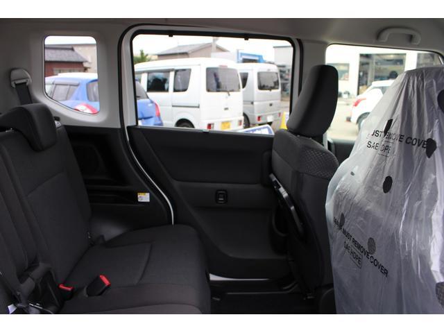 ハイブリッドMZ 登録済未使用車 4WD ブレーキサポートレーンアシスト 盗難防止システム 両側電動スライドドア キーフリーシステム アイドリングSTOP クリアランスソナー オートライト パドルシフト シートヒーター(56枚目)