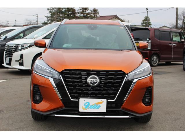 「日産」「キックス」「SUV・クロカン」「富山県」の中古車4