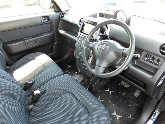 トヨタ bB S Xバージョン HDDナビ キーレス Wエアバッグ