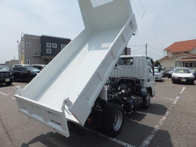 三菱ふそう キャンター 強化ダンプ3t 車線逸脱警報装置 フォグ 電格ミラー