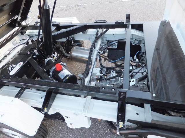 日産 NT100クリッパートラック 強化ダンプ 新明和