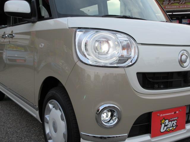 ダイハツ ムーヴキャンバス Gメイクアップ SAII LEDヘッドフォグ 両側パワスラ