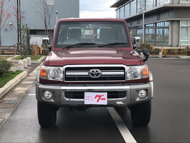 「トヨタ」「ランドクルーザー70」「SUV・クロカン」「富山県」の中古車4