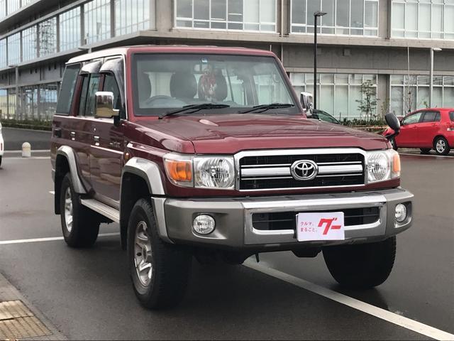 「トヨタ」「ランドクルーザー70」「SUV・クロカン」「富山県」の中古車5
