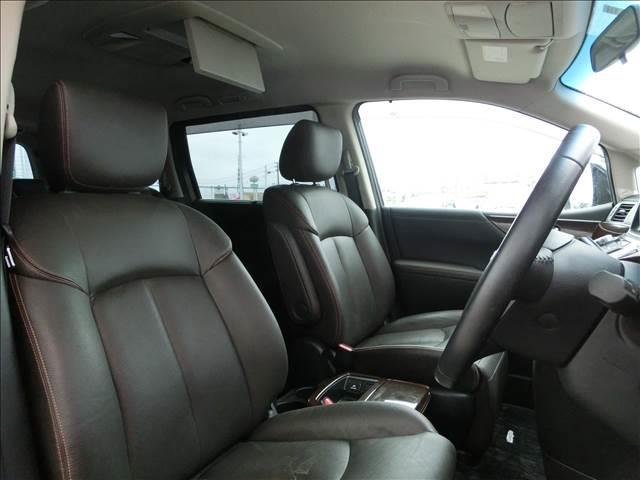 350ハイウェイスタープレミアム4WD本革HDDナビ後席M(11枚目)