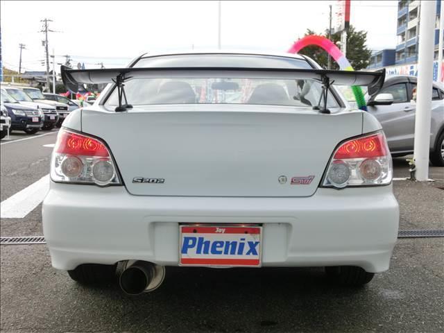 WRX S202 STiバージョン ルーフベンチレータ車高調(5枚目)