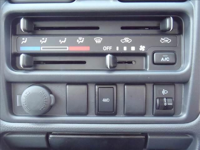 KCエアコン・パワステ切替4WD純正ラジオチューナー5速MT(16枚目)