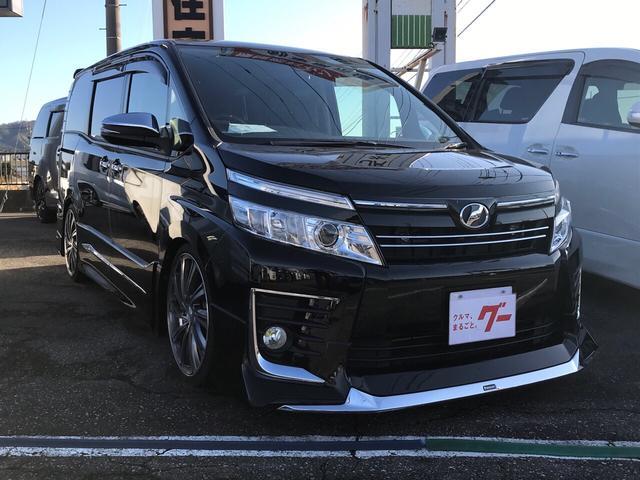 「トヨタ」「ヴォクシー」「ミニバン・ワンボックス」「富山県」の中古車3