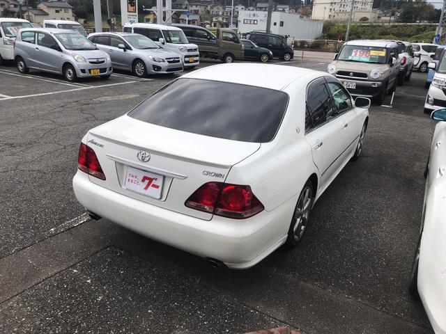 「トヨタ」「クラウン」「セダン」「富山県」の中古車5