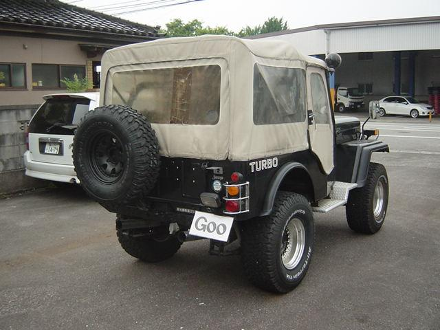 三菱 ジープ キャンバストップ 現状販売車