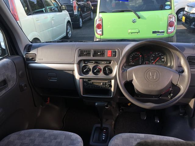 ホンダ バモス M 4WD CD アルミ