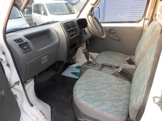 スズキ キャリイトラック ターボ 4WD エアコン パワステ AT車