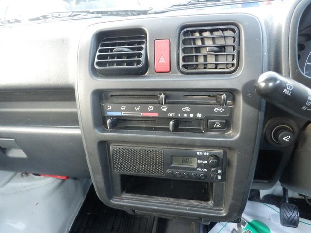 KC パワステ エアコン 4WD 5MT車(11枚目)