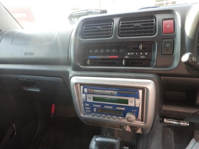 FISフリースタイルワールドカップリミテッド キーレス CD MD 社外16AW 4WD ターボ シートヒーター 衝突安全ボディ ABS デュアルエアバック AT車 エアコン(11枚目)