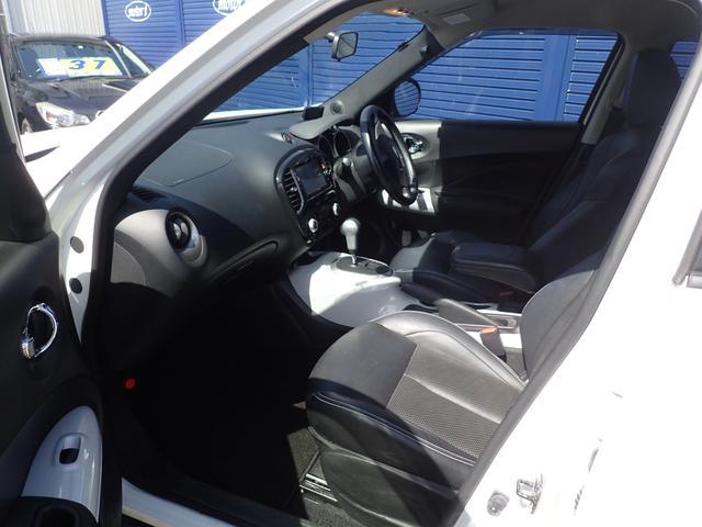 16GT FOUR プレミアムホワイトパッケージ 4WD スマートキー 黒革シート 純正SDナビ 地デジ バックカメラ 純正17アルミ ETC 社外ドライブレコーダー&レーダー探知機(8枚目)