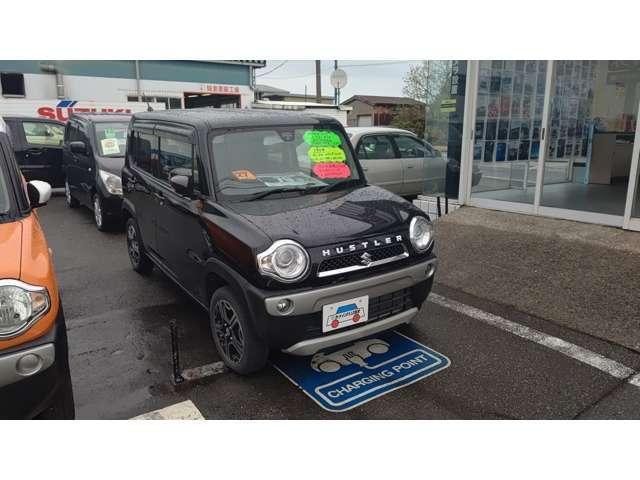 「スズキ」「ハスラー」「コンパクトカー」「富山県」の中古車5