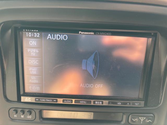 VXリミテッド4WD サンルーフ インチUP 1ナンバー登録 キーレス クルーズコントロール SDナビTV ETC アルミ(3枚目)