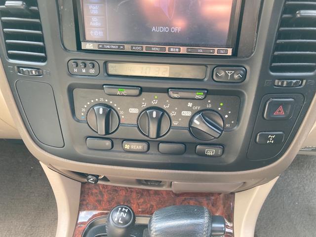 VXリミテッド4WD サンルーフ インチUP 1ナンバー登録 キーレス クルーズコントロール SDナビTV ETC アルミ(6枚目)