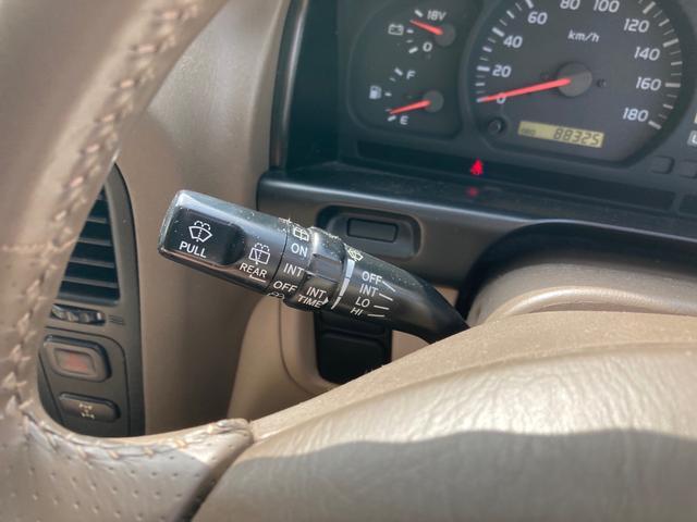 VXリミテッド4WD サンルーフ インチUP 1ナンバー登録 キーレス クルーズコントロール SDナビTV ETC アルミ(33枚目)