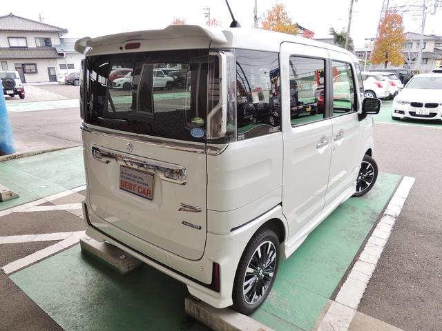「スズキ」「スペーシアカスタム」「コンパクトカー」「富山県」の中古車8