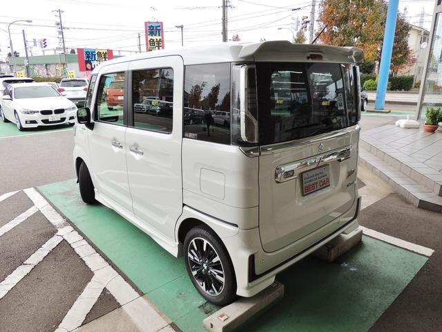 「スズキ」「スペーシアカスタム」「コンパクトカー」「富山県」の中古車9
