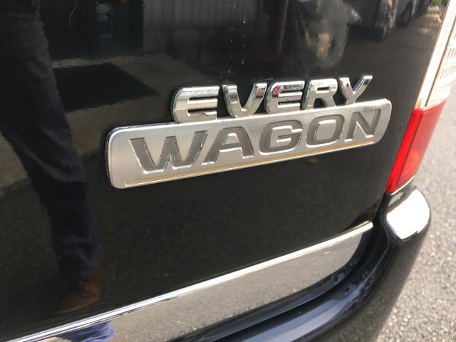 スズキ エブリイワゴン PZターボスペシャル 4WD 両側電動スライド