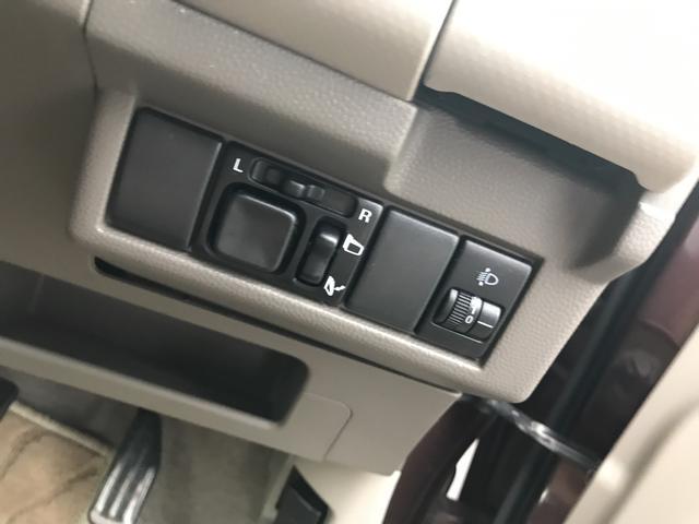 X 軽自動車 マルーンブラウンパール AT AC 4名乗り(10枚目)