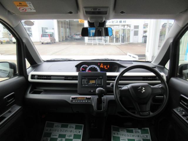 ハイブリッドFX セーフティPKG 4WD 純正CDオーディオ(9枚目)