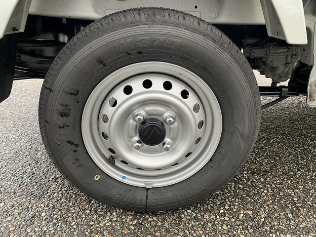 KCエアコン・パワステ 4WD 5MT 新品タイヤ エアバック(9枚目)