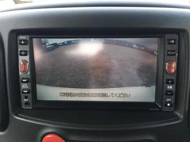 日産 キューブ 15X FOUR Vセレクション ナビTV Bカメラ ETC