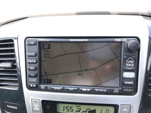 トヨタ アルファードG MS サンルーフ ナビ TV バックカメラ AW17インチ