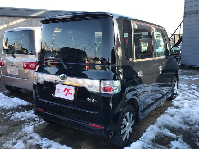 カスタムX 軽自動車 4WD ブラックマイカ AT AC(3枚目)
