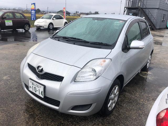 「トヨタ」「ヴィッツ」「コンパクトカー」「富山県」の中古車4