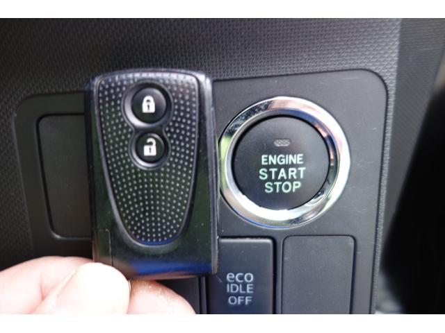 エンジンスタートはプッシュボタン式!イモビライザー内蔵なのでセキュリティ面もしっかりしてます☆