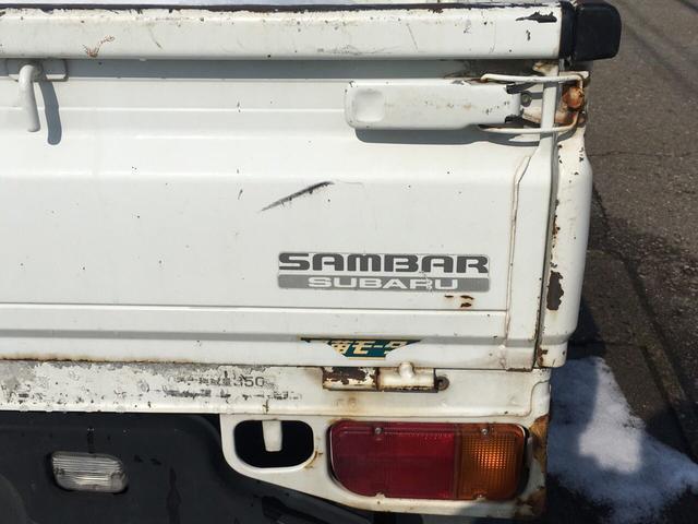 スバル サンバートラック 660 SDX 4WD