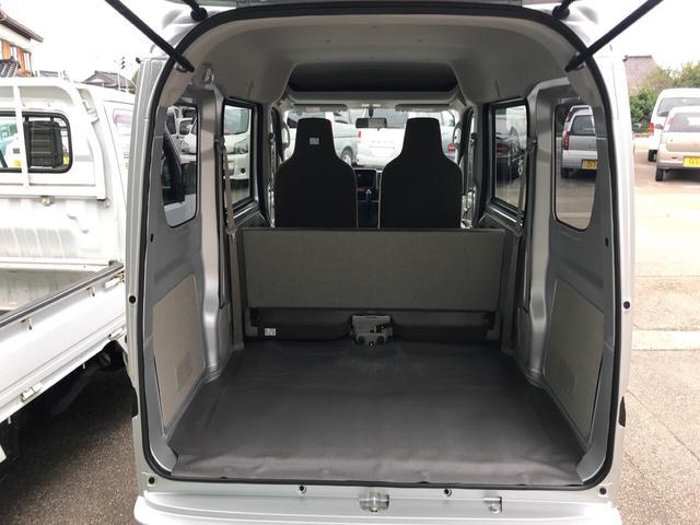 DX 4WD AC CVT 軽バン 両側スライドドア(7枚目)