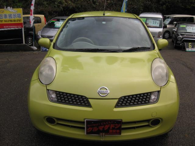 「日産」「マーチ」「コンパクトカー」「富山県」の中古車5