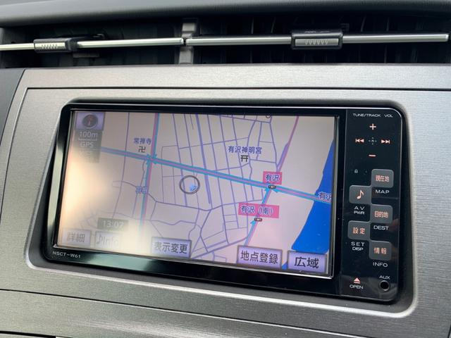 S 純正SDナビ フルセグTV ビルトインETC LEDヘッドライト Bluetooth対応(9枚目)