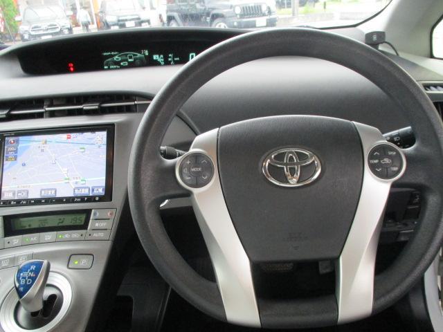 トヨタ プリウス S HDDナビ フルセグTV LEDライト シートカバー