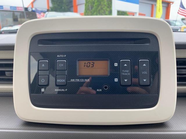 純正CDチューナーです。万全の作動確認を行い、ご納車させていただきます。