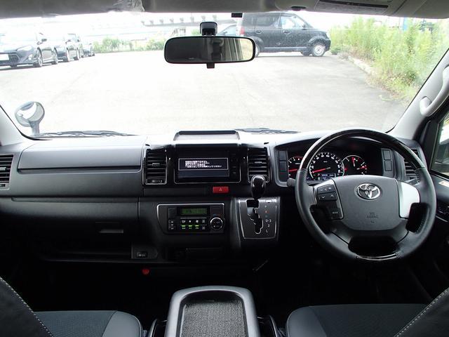 スーパーGLダークプライム4WD軽油フルセグSDナビBカメラ(11枚目)