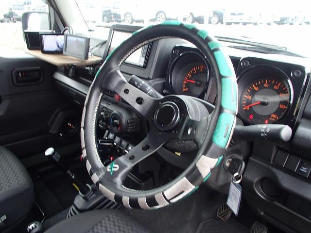 XG 切替4WD 5速MT リフトアップ 16AW オーバーフェンダー 電動ウインチ フルセグナビ FSRカメラ ドラレコ LEDライト&フォグ フロントグリル テールレンズ マフラー エアクリーナー(27枚目)