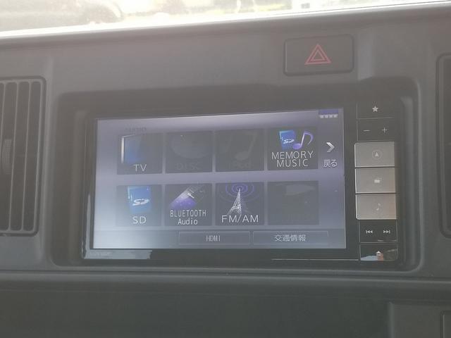デッキバン L ハイルーフ 切替4WD 純正SDナビ フルセグTV バックカメラ ドライブレコーダー ETC アイドリングストップ オーバーヘッドシェルフ 両側スライドドア DVD再生機能 ブルートゥース対応(16枚目)