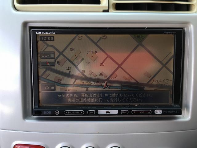 三菱 eKワゴン G 社外HDDナビTV DVD再生 キーレス ワンオーナー