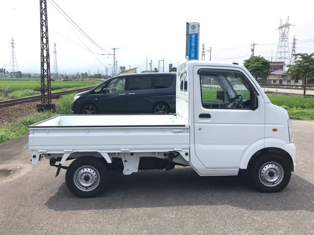 KCエアコン・パワステ 4WD 5MT 安全ボディ 三方開(4枚目)
