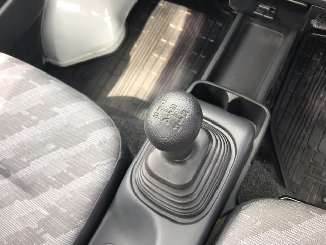 KCエアコン・パワステ 4WD 5MT 安全ボディ 三方開(16枚目)